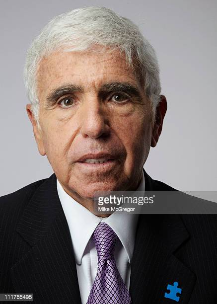 CEO of Sirius XM Radio Mel Karmazin is photographed for Bloomberg Businessweek on October 18 2010 in New York City