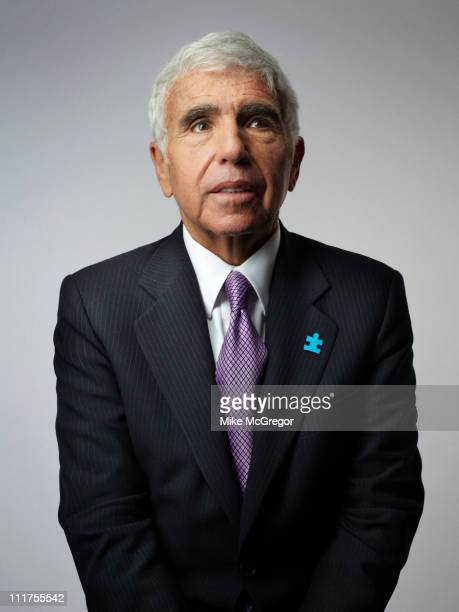 CEO of Sirius XM Radio Mel Karmazin is photographed for Bloomberg Businessweek on October 18 2010 in New York City Published Image