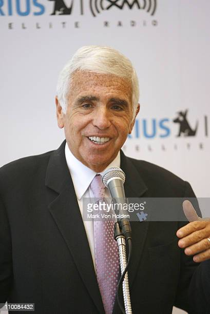 CEO of SIRIUS XM Radio Mel Karmazin speaks at the press conference announcing that Chris Mad Dog Russo will headline an exclusive new channel on...