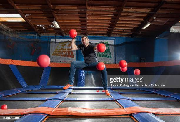 CEO of Sky Zone Jeff Platt is photographed for Forbes Magazine on May 30 2017 at a company outlet in Gardena California CREDIT MUST READ Robert...