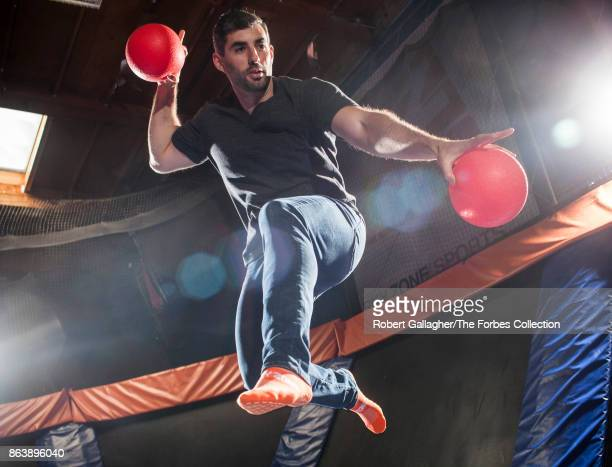 CEO of Sky Zone Jeff Platt is photographed for Forbes Magazine on May 30 2017 at a company outlet in Gardena California PUBLISHED IMAGE CREDIT MUST...