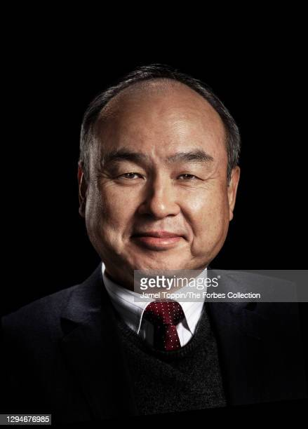 Of SoftBank, Masayoshi Son is photographed for Forbes Magazine on March 4, 2020 in Los Angeles, California. COVER IMAGE. CREDIT MUST READ: Jamel...