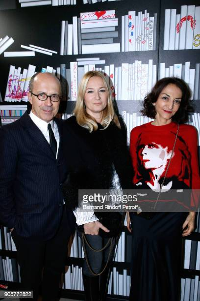 CEO of Sonia Rykiel JeanMarc Loubier Artistic Director at Sonia Rykiel Julie de Libran and Nathalie Rykiel attend the Manifesto Sonia Rykiel 5Oth...