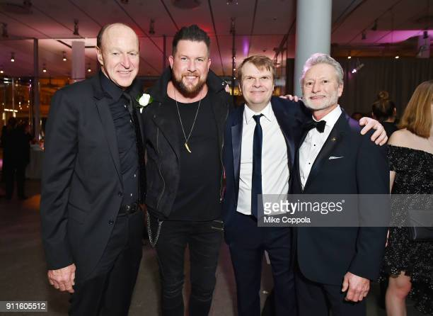 COO of Sony Music Entertainment Kevin Kelleher recording artist Zach Williams CEO of Sony Music Entertainment Rob Stringer and President CEO...