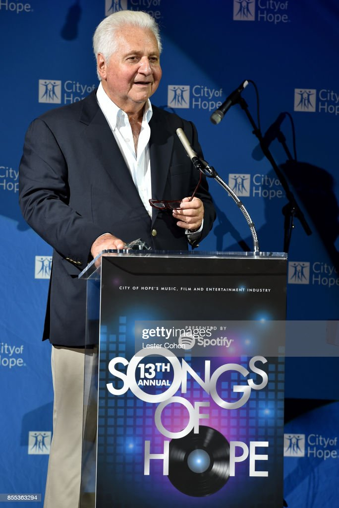 City of Hope's Music, Film and Entertainment Industry's Songs of Hope Event