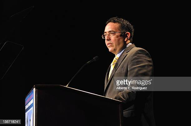ACLU of Southern California Executive Director Hector O Villagra attends The ACLU of Southern California's 2011 Bill of Rights Dinner at the Beverly...