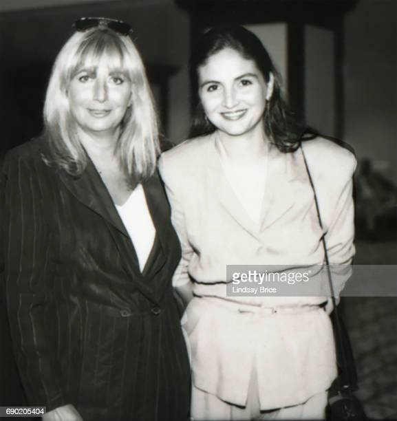 ACLU of Southern California Torch of Liberty Dinner 1995 Penny Marshall and her daughter Tracy Reiner together at ACLU Torch of Liberty Dinner...
