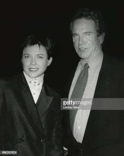 ACLU of Southern California Torch of Liberty Dinner 1996 Annette Bening and Warren Beatty attend the ACLU Torch of Liberty Dinner honoring Rob Reiner...