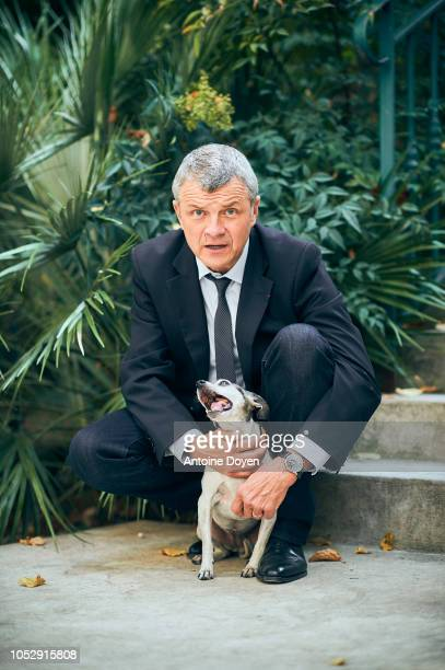 CEO of SPA JacquesCharles Fombonne is photographed for Self Assignment on September 2018 in Paris France
