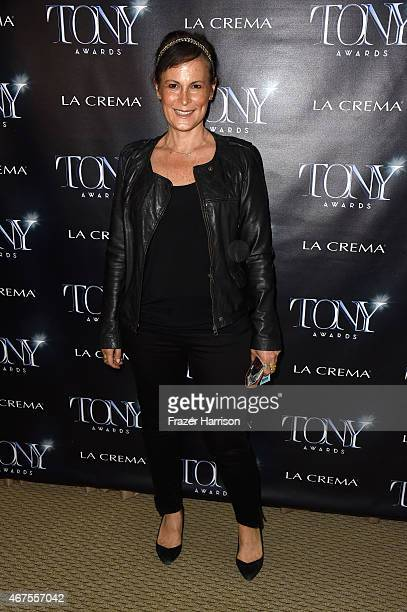 SVP of Specials at CBS Network Jodi Roth attends The Tony Awards celebration of Broadway in Hollywood at Sunset Towers on March 25 2015 in West...