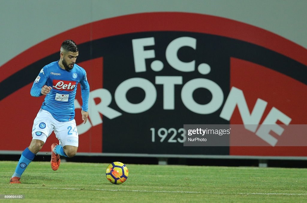 FC Crotone v SSC Napoli - Serie A : News Photo