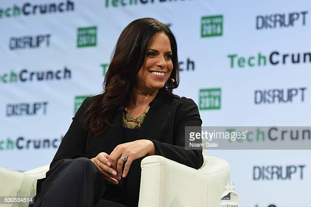 CEO of Starfish Media Group Soledad O'Brien speaks onstage during TechCrunch Disrupt NY 2016 at Brooklyn Cruise Terminal on May 11 2016 in New York...
