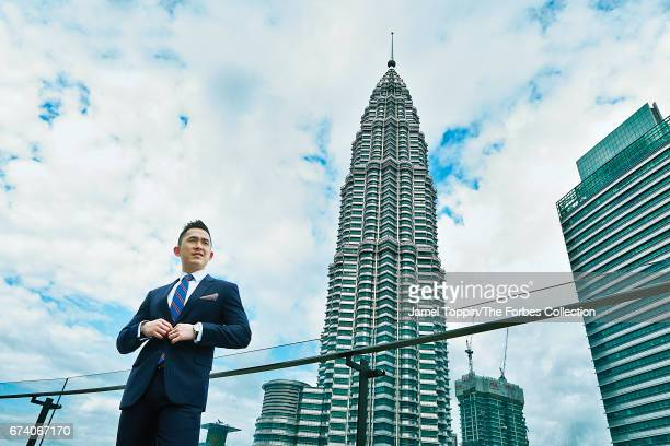 CEO of TA Global Berhad Joo Kim Tiah is photographed for Forbes Magazine on February 15 2017 in Kuala Lumpur Malaysia PUBLISHED IMAGE CREDIT MUST...