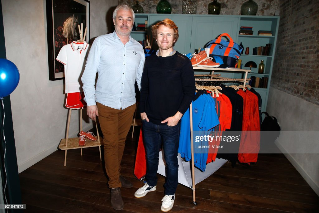 Francois Gabart Celebrates 40 years of TBS : Photocall at l'Hoxton : News Photo