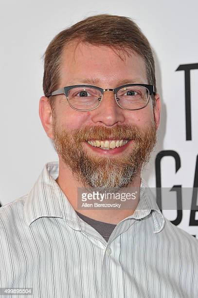 Of TellTale Evin Brunner arrives at The Game Awards 2015 at Microsoft Theater on December 3, 2015 in Los Angeles, California.