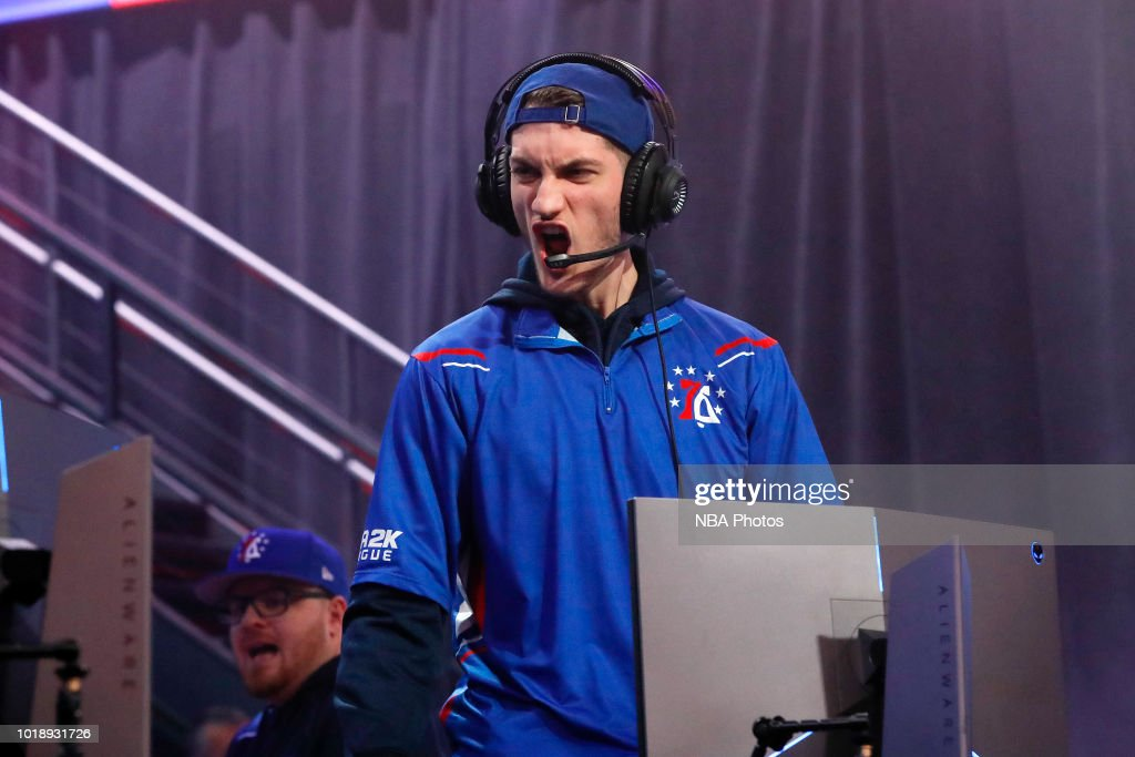 76ers Gaming Club v Heat Check Gaming : News Photo