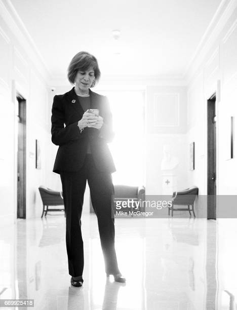 CEO of the American Red Cross Gail McGovern is photographed for Delta Sky Magazine on January 27 2017 in Washington DC
