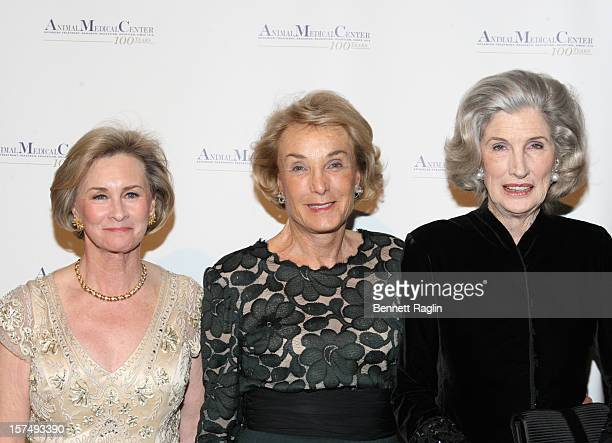 CEO of the Animal Medical Center Kathryn Coyne Elaine Langone and Nancy Kissinger attend The Animal Medical Center's TOP DOG Gala at Cipriani 42nd...