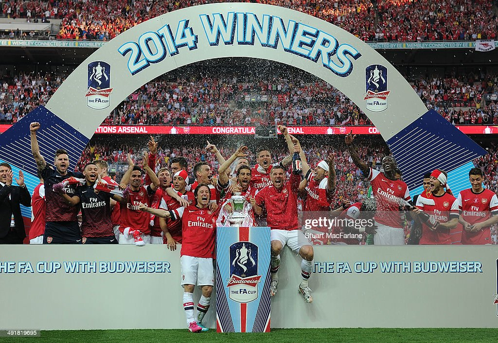 Arsenal v Hull City - FA Cup Final : News Photo