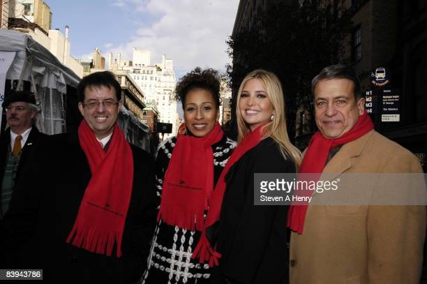 CEO of The Bank of New York Mellon Robert P Kelly actress Tamara Tunie Ivanka Trump and CEO of The Children's Aid Society C Warren Moses attend the...