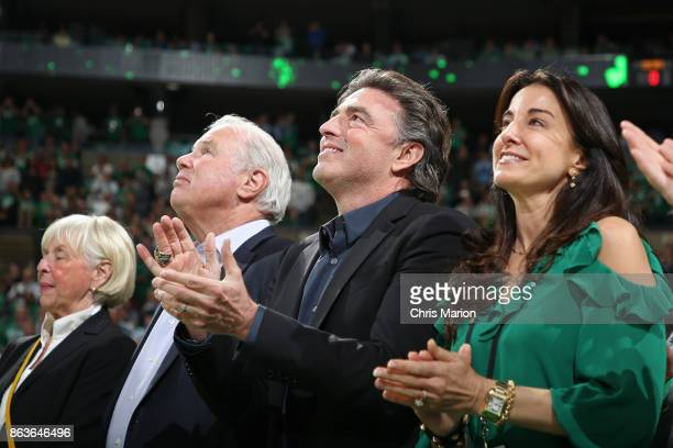 CEO of the Boston Celtics Wyc Grousbeck attends the game against the Milwaukee Bucks on October 18 2017 at the TD Garden in Boston Massachusetts NOTE...