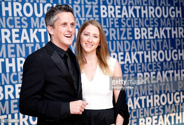 Of the Box Aaron Levie and ?CEO at Paradigm Joelle Emerson attend the 2017 Breakthrough Prize at NASA Ames Research Center on December 4, 2016 in...
