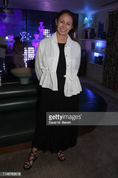 Of the British Fashion Council Caroline Rush attends the GQ Style and Browns party to celebrate LFWM June 2019 at Soho House on June 9, 2019 in...
