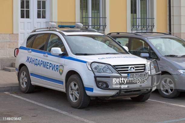 SUV of the Bulgarian Gendarmerie
