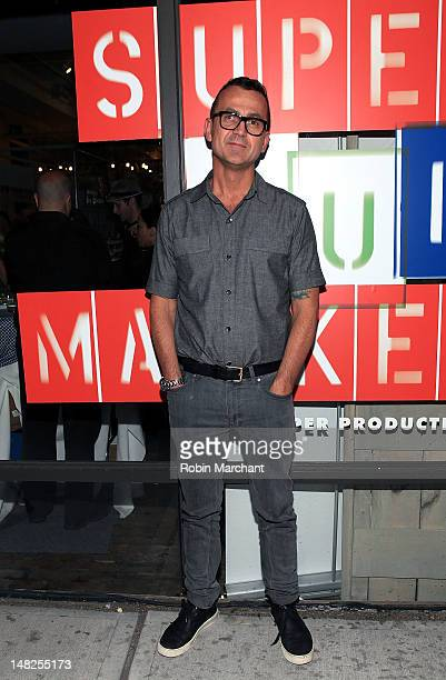CEO of the CFDA Steven Kolb attends Paper Magazine's Super Market Opening Night Party at Super Market on July 12 2012 in New York City