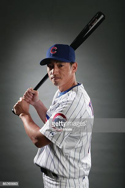 # of the Chicago Cubs poses during photo day at the Fitch Park Spring Training complex on February 23 2009 in Mesa Arizona