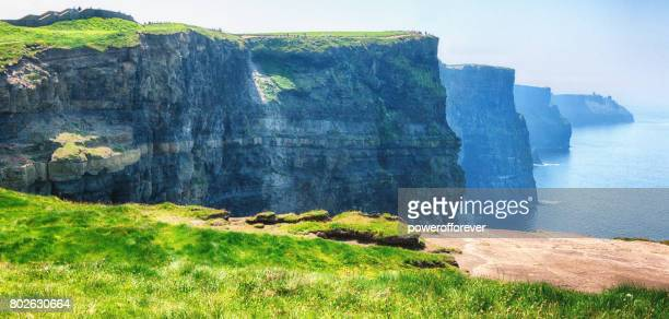 HDR of the Cliffs of Moher in County Clare, Ireland