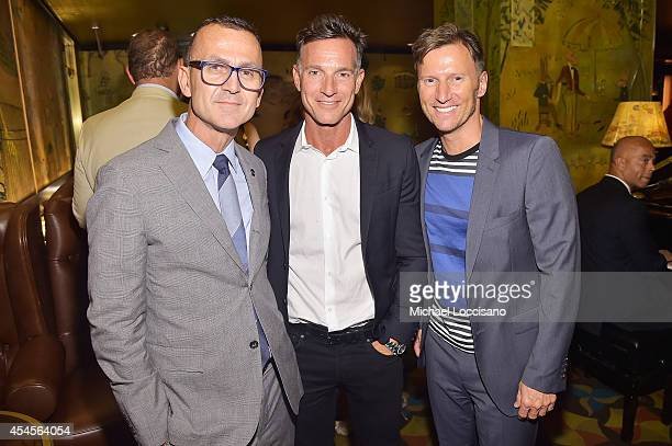 CEO of the Council of Fashion Designers of America Steven Kolb SVP of Marketing Communications at Burberry George Kolasa and Vice President of Public...