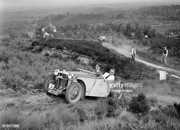 PB of the Cream Cracker team taking part in the NWLMC Lawrence Cup Trial 1937 MG PB 1935 939S cc Vehicle Reg No JB7521 Event Entry No 9 Chassis No...