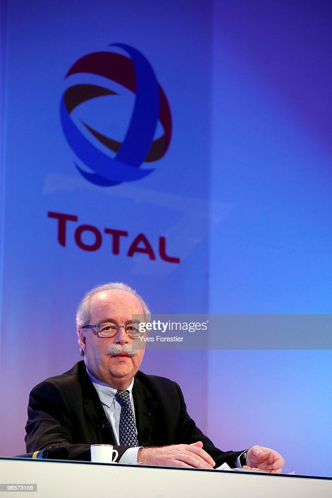 CEO Christophe Margerie Presents TOTAL Group's Results For 2009