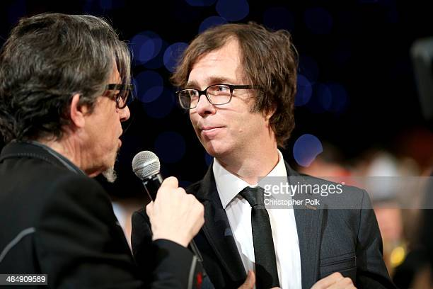 VP of the GRAMMY Foundation Scott Goldman and musician Ben Folds attend 2014 MusiCares Person Of The Year Honoring Carole King at Los Angeles...