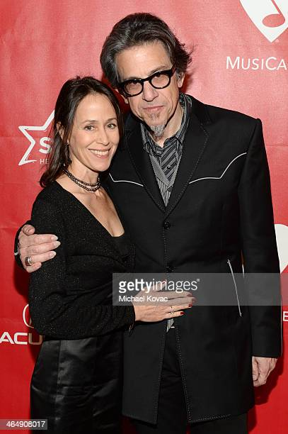 VP of the GRAMMY Foundation Scott Goldman and Rochelle Gross attend 2014 MusiCares Person Of The Year Honoring Carole King at Los Angeles Convention...