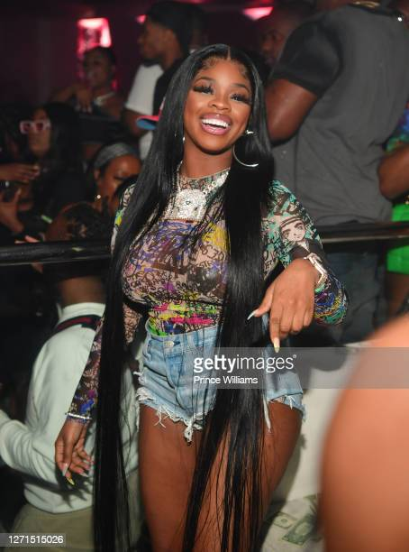 Of the group City Girls attend The City Girls Labor Day Weekend Takeover at Republic Lounge on September 6, 2020 in Atlanta, Georgia.