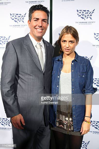 Of The Humane Society of the United States Wayne Pacelle and Charlotte Ronson attend The Humane Society of the United States & The Art Institute's...
