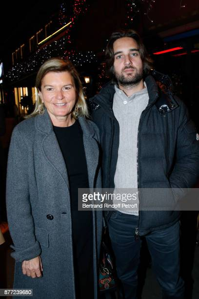 CEO of the 'Jerome Seydoux Pathe Foundation' Sophie Seydoux and producer of the movie Dimitri Rassam attend the 'Le Brio' movie Premiere at Cinema...