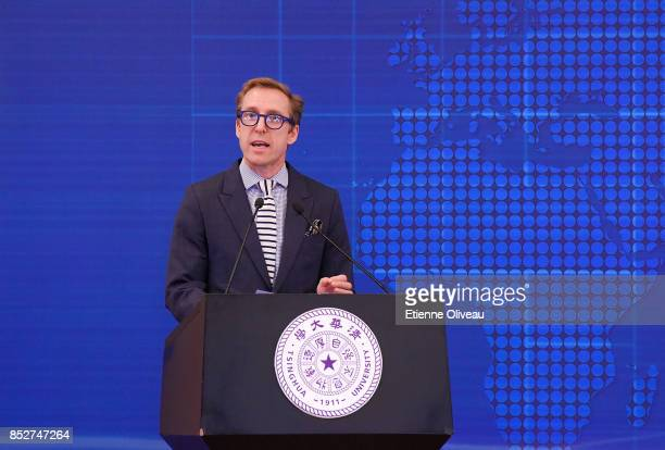 Of the LEGO Foundation, John Goodwin, holds a speech during the Opening of the Sino-Danish high-level seminar, Educating the leaders of tomorrow Ð...