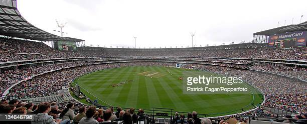 GV of the MCG on Boxing Day with a crowd of 89 Australia v England 4th Test Melbourne Dec 06