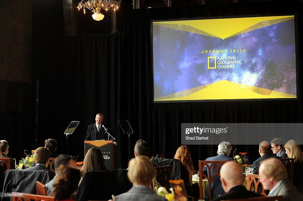 National Geographic Channel Nat Geo WILD 2014-2015 Upfront : News Photo