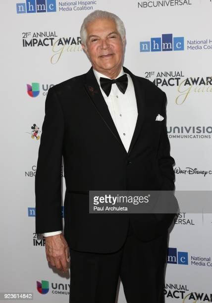 CEO of the National Hispanic Media Coalition Alex Nogales attends the National Hispanic Media Coalition's 21st annual Impact Awards at the Beverly...