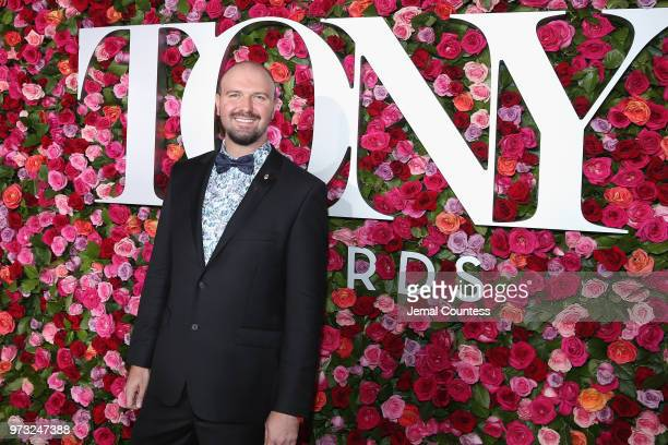 CEO of the National Yiddish Theatre Chris Massimine attends the 72nd Annual Tony Awards at Radio City Music Hall on June 10 2018 in New York City