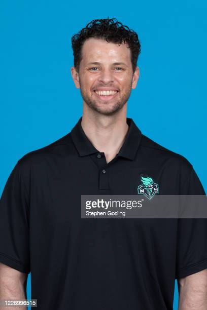 Walt Hopkins head coach of the New York Liberty poses for a head shot during Media Day on July 13 2020 at IMG Academy in Bradenton Florida NOTE TO...