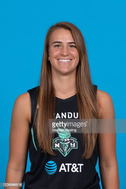 Sabrina Ionescu of the New York Liberty poses for a head shot during Media Day on July 13 2020 at IMG Academy in Bradenton Florida NOTE TO USER User...