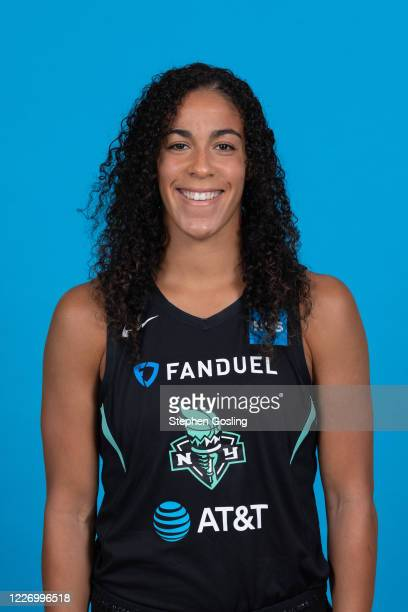 Kia Nurse of the New York Liberty poses for a head shot during Media Day on July 13 2020 at IMG Academy in Bradenton Florida NOTE TO USER User...