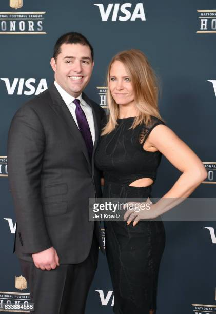 CEO of the San Francisco 49ers Jed York and Danielle Belluomini attend 6th Annual NFL Honors at Wortham Theater Center on February 4 2017 in Houston...