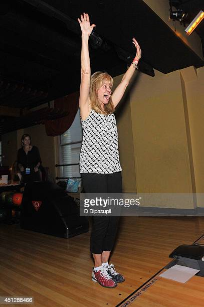 CEO of the TJ Martell Foundation Laura Heatherly attends TJ Martell Foundation's NY Bowling Bash Chaired by DJ Sean Glass at Bowlmor Times Square on...
