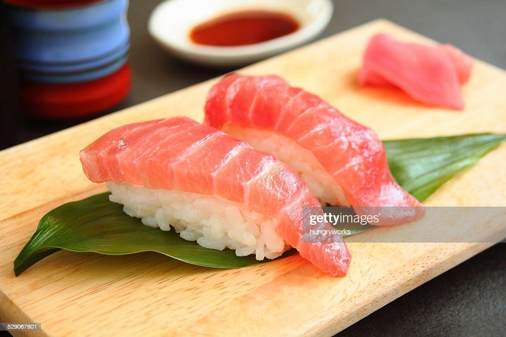 SUSHI of the tuna : Stock Photo